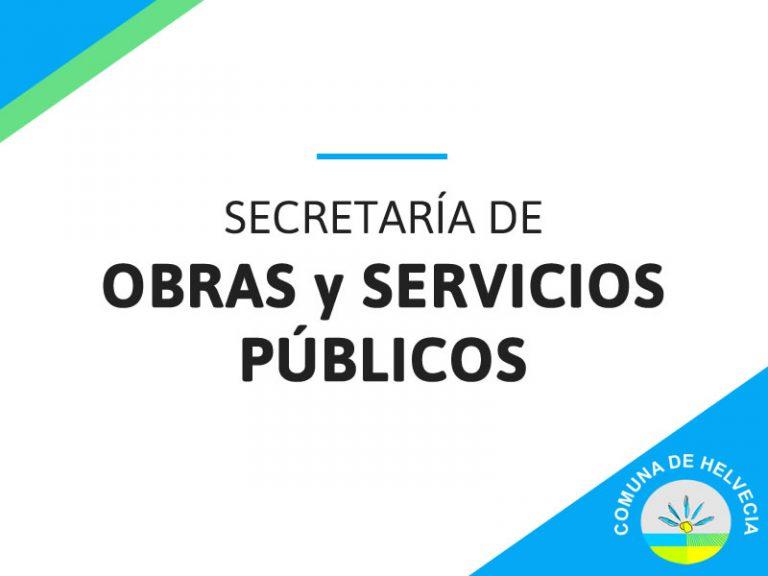 Obras y Servicios Públicos