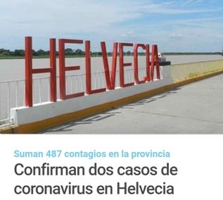 COMUNICADO DE LA COMUNA DE HELVECIA