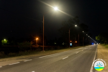 Luminarias Barrio Ocampo